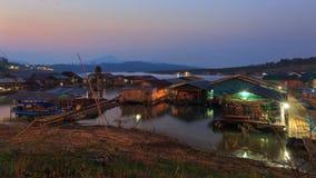 Thai houseboat Stock Image