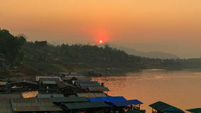Thai houseboat Stock Images