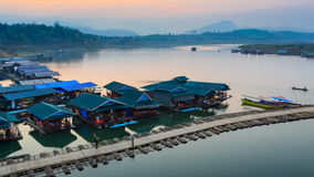 Thai houseboat Stock Photography