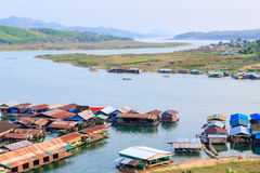 Thai houseboat Royalty Free Stock Image