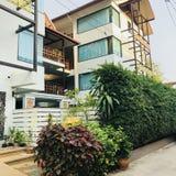thai hus arkivfoton