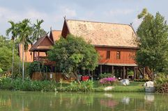 thai hus Arkivfoto