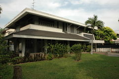 thai hus Royaltyfri Bild