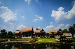 thai hus Royaltyfria Bilder