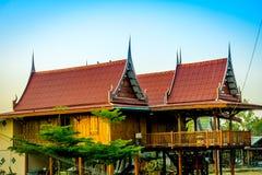thai hus Fotografering för Bildbyråer