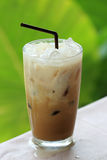 Thai ice coffee Royalty Free Stock Image