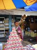 Thai Ice Tea Royalty Free Stock Photos