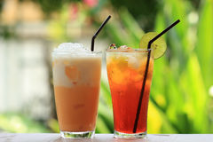 Thai Ice Tea Stock Photography