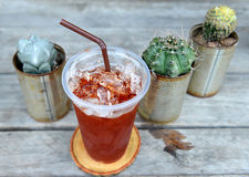 Thai ice tea Royalty Free Stock Photography