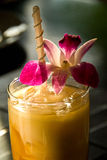 Thai iced tea Stock Images