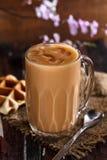 Thai Iced tea. Traditional thailand drink royalty free stock photos