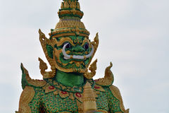 Thai idol. Is one of the main symbols of Thai religion Royalty Free Stock Images