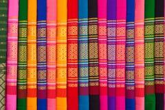 thai infödda modeller för torkdukar arkivfoto