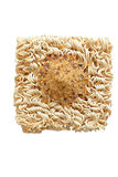 Thai instant noodle with seasoning Royalty Free Stock Photos