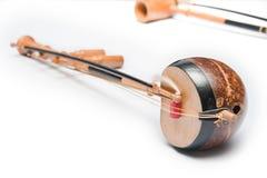 thai instrumentmusikal Arkivbilder