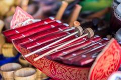 thai instrumentmusikal Royaltyfri Fotografi