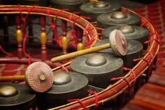 thai instrumentmusikal Fotografering för Bildbyråer