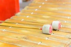 thai instrumentmusikal Arkivbild