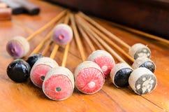 thai instrumentmusikal Arkivfoto