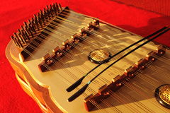 Thai instruments.they are on stage. Royalty Free Stock Images
