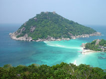 Thai island. The island of Ko Nang Yuan, in Thailand Royalty Free Stock Photos
