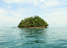 Thai Island with blue sky Royalty Free Stock Image