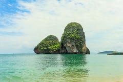 Thai Island with blue sky Stock Photo