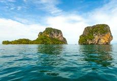 Thai Island with blue sky Stock Photos