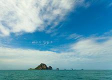 Thai Island with blue sky Royalty Free Stock Images