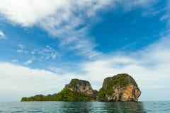Thai Island with blue sky Stock Image