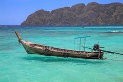 Thai island. Longtail Boat Stock Photography
