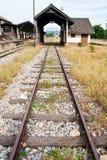 thai järnväg Arkivfoto