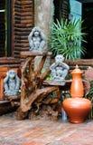 Thai jar Stock Images