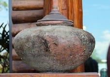 Thai jar Royalty Free Stock Image