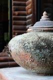 Thai jar Stock Photo