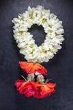 Thai jasmine garland Stock Images