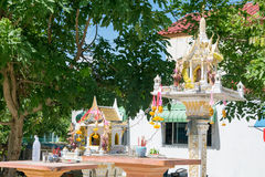 Thai joss house Royalty Free Stock Photo
