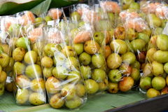Thai jujube Stock Image