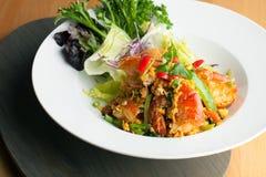 Thai Jumbo Shrimp Salad Royalty Free Stock Photo