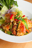 Thai Jumbo Shrimp Salad Royalty Free Stock Photography