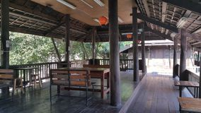 Thai kaffe för rum Arkivbild