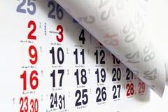 thai kalender Royaltyfri Bild