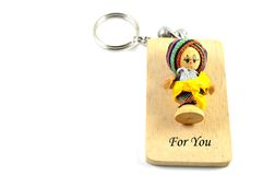 Thai key ring Stock Image
