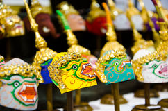 Thai khon mask Stock Photo