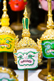 Thai khon mask Royalty Free Stock Photography