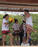 Thai Kickboxing Royalty Free Stock Images