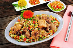 thai kinesisk mat Royaltyfri Bild