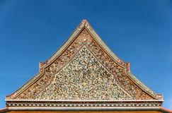thai kinesisk stil för arkitektur Royaltyfria Bilder