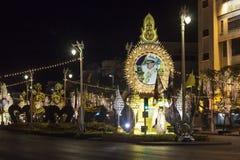 Thai king bilboard Stock Image