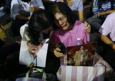 Thai King Death Royalty Free Stock Photos